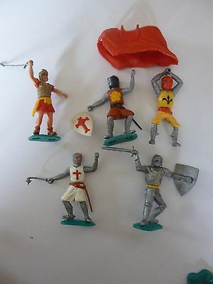 Timpo Vintage Collection of One  Roman & Some Knights Collection