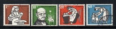 Germany 1956 Humanitarian Relief Fund   SG.1169/1172  Used Set of 4   SG.Cat:£23