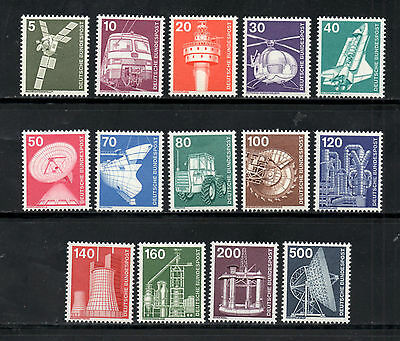 Germany 1975-76 Industry & Technology SG.1739/1755 Initial Issues Mint (MNH))