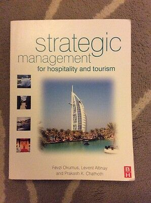 Strategic Management For Hospitality And Tourism Book