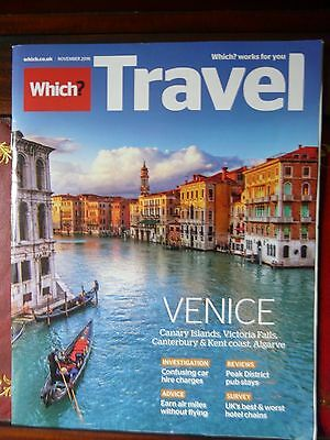 WHICH TRAVEL magazine November 2016