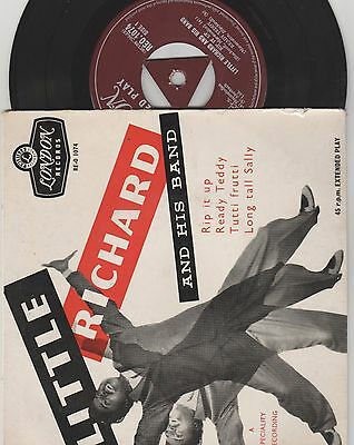 Little Richard and his band Part 2 London REO 1074 VG+/VG Silver print
