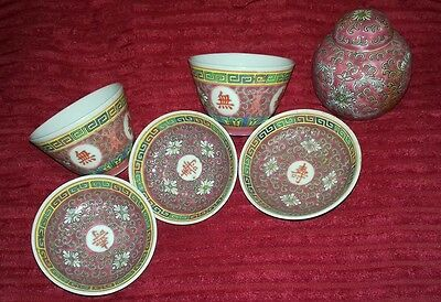 chinese cups and Saucers