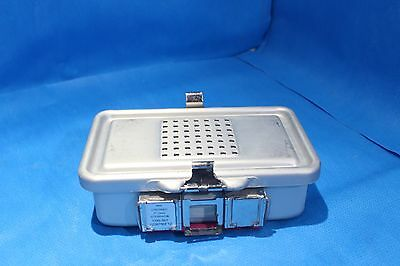 Sterrad Genesis V.Muller Mini Container Sterilization Tray  Ref# CD0-3ST Case