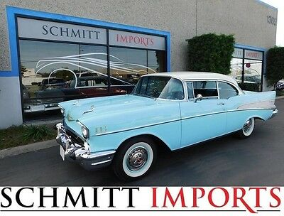 1957 Chevrolet Bel Air/150/210  1957 BelAir in absolute outstanding fully restored condition! L@@K!!