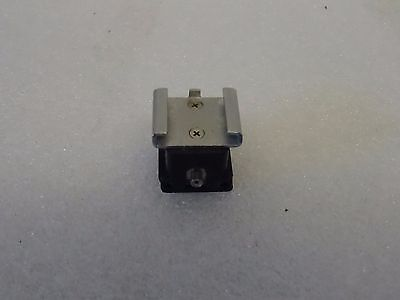 CAMERA HOT SHOE to PC CABLE SYNC FLASH SOCKET ADAPTER/ADAPTOR