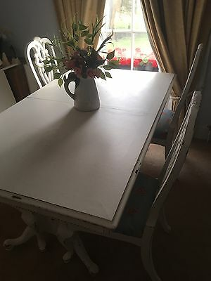 dining table and chairs / Farmhouse / Shabby Chic