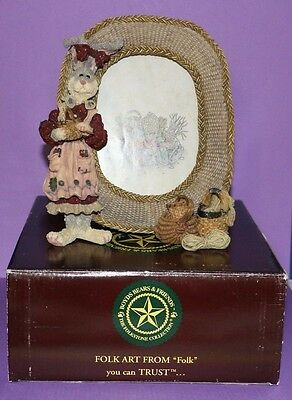 Boyds Bears Wendy Willowhare A Tisket A Tasket Bunny Rabbit Easter Picture Frame