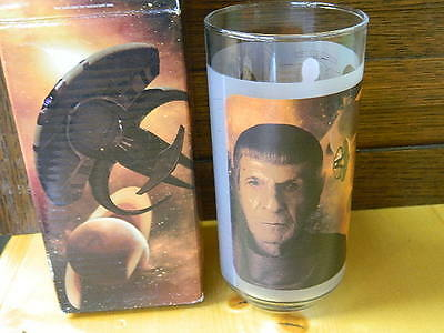 Star Trek Collectible Glasses Spock 2008 In the Box Paramount