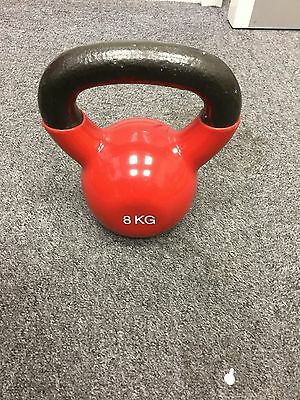 8kg Cast Iron Kettlebell Lineup Sports New