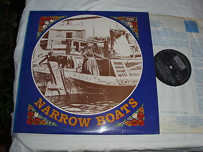 NARROW BOATS 1975.ARGO LP Stories Songs Traditions Voices Sounds.Waterway Canal