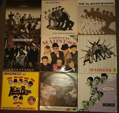 "Madness 6 Albums & 3 12"" Singles One Step Beyond Absolutely 7 Complete Utter"