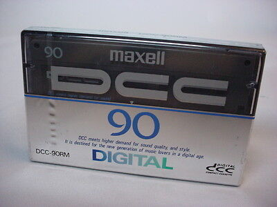 Maxell DCC-90RM Digital Compact Cassette Made in Japan. new sealed unused