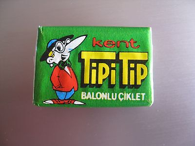 Unopened  Vintage Bubble Gum  Tipi Tip  TIPITIP wrappers GREEN  Very  rare  !