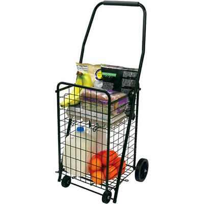 Helping Hand - Shopping Cart 4 Wheels Folding Grocery Laundry Max Wight Carry