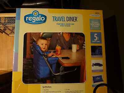 Toddler Hook On Chair Portable Easy Seat High Booster Diner Baby Table Travel