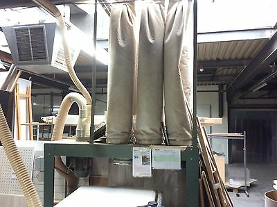 2 Bag Extractor Unit Woodworking Dust