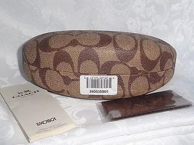 Coach gorgeous sunglasses case , cleaning  cloth