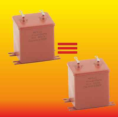 30 uF 160 V STRONG MATCHED RUSSIAN PAPER IN OIL PIO AUDIO CAPACITORS MBGO МБГO-2