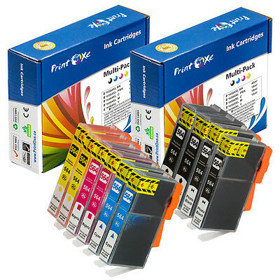 HP 564XL Compatible 10 Ink (2 Sets) 2 of Each of BK PBK Cyan Magenta & Yellow