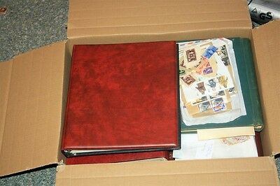 Box With Covers Stamps Albums etc (I)