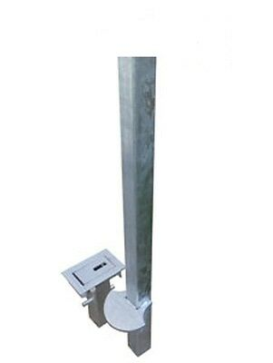 Driveway Security Post, High Security. Removable. Ultimate Security. Unique.