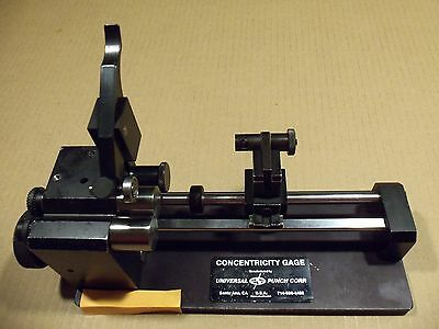 Universal Punch Corp Concentricity Gage G-10