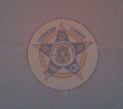New York New Jersey Police Decal (PBA FOP) 2017 *Family Member*
