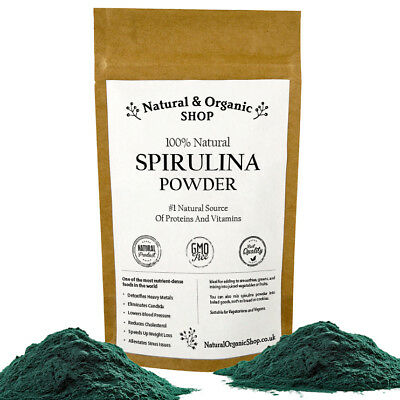 SPIRULINA Powder - Natural & Organic Shop (SPECIAL OFFER Up to 25% OFF!)