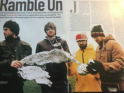 The Beta Band # Interview # Original 1999 Article # 3 Pages