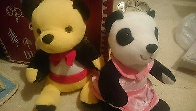 Sooty and sue plush toys