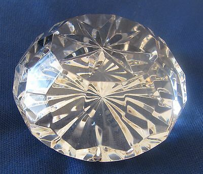 WATERFORD CRYSTAL PAPERWEIGHT - Round
