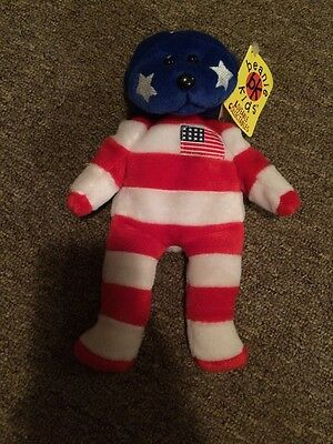 Beanie Kids Independence The American Bear Retired