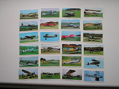 Full Set 24 Cards Golden Age Of Flying Sharman Newspapers