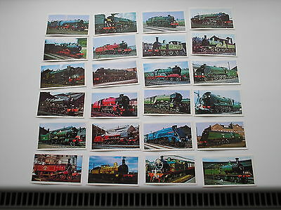 Full Set 24 Cards Golden Age Of Steam Sharman Newspapers