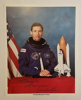 Brewster H. Shaw Sts-9, 28, 61-B Nasa Astronaut Signed Autographed 8X10 Photo