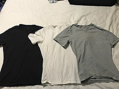 SPANX for Men - Size M - 3 (THREE) T-Shirts - Like new condition