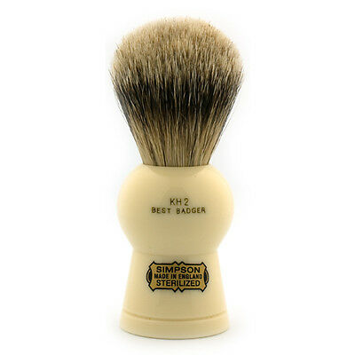 Simpsons Keyhole KH2 Best Badger Shaving Brush