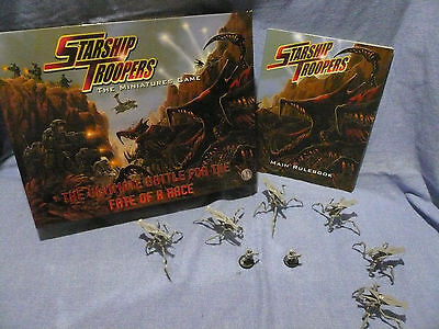 STARSHIP TROOPERS Minature Game by Mongoose Publishing. 2005