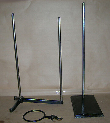 Lab Tools - Stands #6 - Metal Lab Stands Lot of (  2)