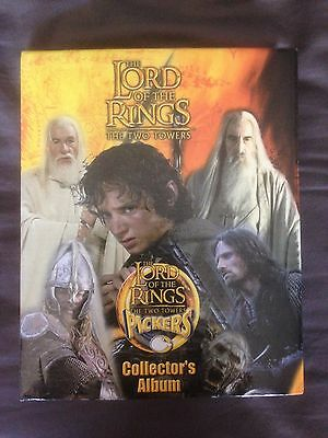 Lord of the Rings RARE Tazo Pickers Complete Set LOTR