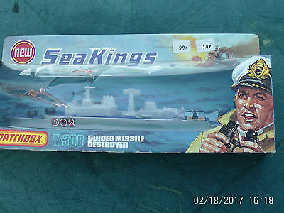 Matchbox Sea Kings Fighting Ships 1975