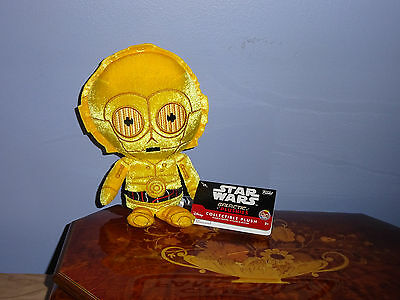 Star Wars Funko Galactic Plushie - COLLECTIBLE PLUSH C3P0! AWESOME!!
