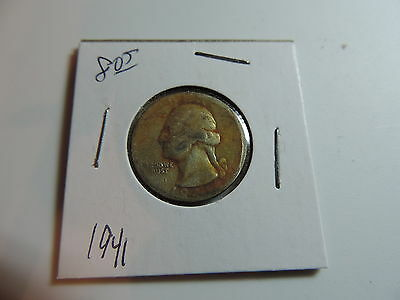 1941  US American Quarter coin A703