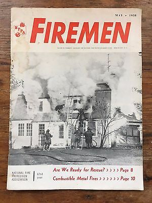 Firemen Magazine (May 1958) National Fire Protection Association