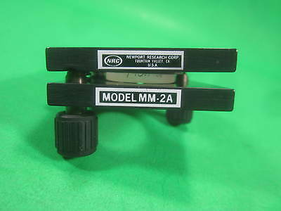 Newport NRC Optical Mount -- MM-2A -- Used