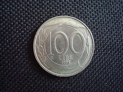 Italy 100 Lire Coin 1994 World Coins.