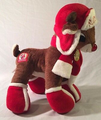 Christmas Plush~RUDOLPH THE RED NOSE REINDEER