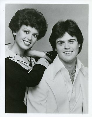 Donny Osmond Marie Osmond Donny And Marie Smiling The Osmonds 1976 Abc Tv Photo