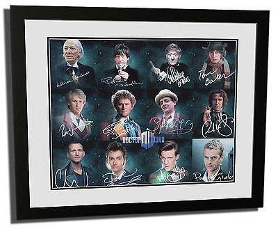 Doctor Who - 12 Doctors Signed Limited Edition Framed Memorabilia